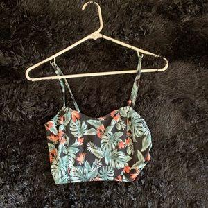Leafy Crop Top